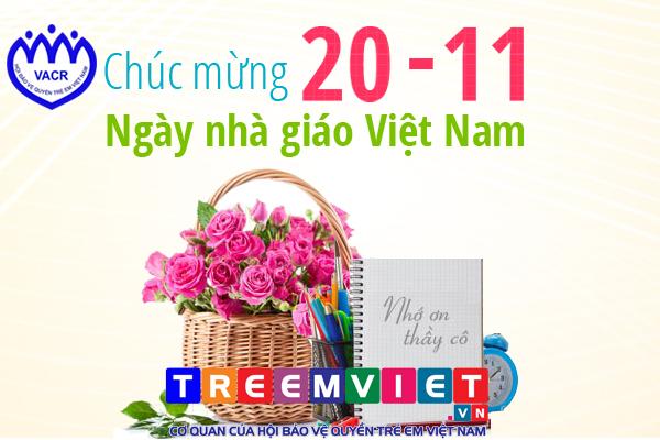 Chào mừng ngày nhà giáo Việt Nam 20 - 11