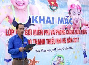 Ninh Bình: Lớp dạy bơi miễn phí và phòng chống đuối nước cho thiếu nhi năm 2017