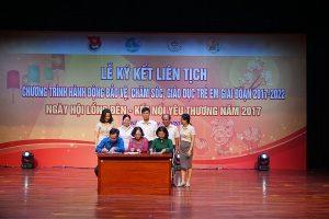 Đà Nẵng ký chương trình phối hợp bảo vệ quyền trẻ em