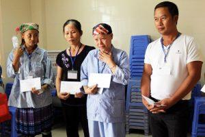 Thăm, tặng quà bệnh nhân nhi tại Bệnh viện K Tân Triều