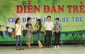 Diễn đàn trẻ em ở Phú Yên
