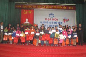 Đại hội lần thứ II Hội Bảo vệ quyền trẻ huyện Tân Yên nhiệm kỳ 2017 – 2022