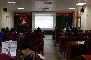 Tập huấn nâng cao kiến thức pháp luật về trẻ em cho cán bộ Hội cơ sở