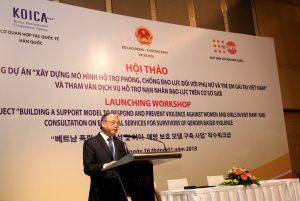 Khởi động dự án Xây dựng mô hình phòng, chống bạo lực đối với phụ nữ và trẻ em gái tại Việt Nam