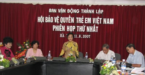 Hội nghị lần thứ nhất Ban vận động thành lập Hội tại Hà Nội