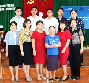 Hội Bảo vệ Quyền trẻ em Việt Nam làm việc tại Quảng Ninh