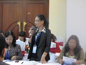 """Những tác động với cộng đồng từ mô hình làm cha mẹ tốt và vai trò giám sát của Hội Bảo vệ quyền trẻ em tỉnh Thừa Thiên – Huế trong mô hình """"Bóng đá cộng đồng""""."""