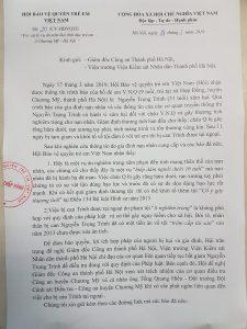 Hội Bảo vệ quyền trẻ em Việt Nam lên tiếng bảo vệ quyền trẻ em bị xâm hại tại Chương Mỹ, Hà Nội